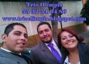 Serenatas y eventos con trio mexico df