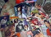 Libros, revistas, videocassettes, y varios  souvenirs michael jackson
