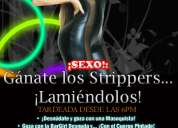 Miércoles de tardeada: gánate strippers... ¡lamiéndolos!