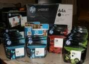Lote de tintas y toner hp… ¡nuevos y baratos!