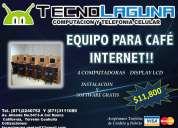 Venta de equipo para cafÉ internet!!!!!!