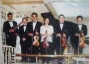 Grupo de violines,eventos sociales, musica selecta.