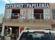 Traspaso papeleria y ciber cafe