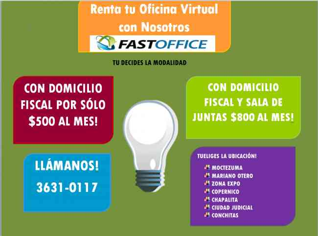 Oficina virtual con sala de juntas diferentes domicilios for Tu oficina virtual