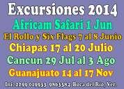 Excursión six flags y el rollo desde veracruz abril 2014