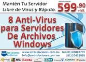 Antivirus para servidor windows 2003, 2008 y 2012
