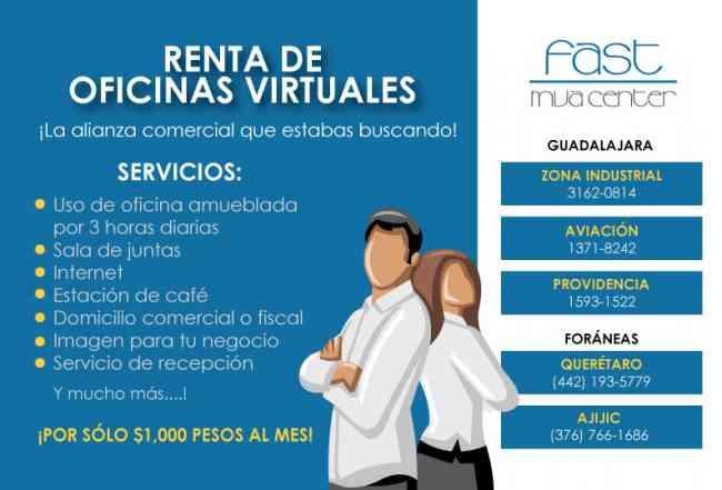 Zapopan renta de oficinas amuebladas y virtuales zapopan for Renta de oficinas amuebladas