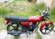 Moto italika 125 roja con seis meses de garantia