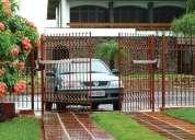 Portones automaticos residenciales e industriales, cercas electrificadas, cctv, alarmas monitoreadas
