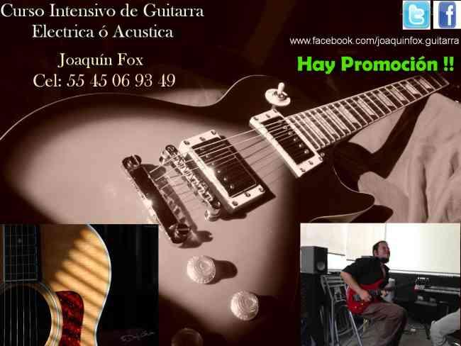 Clases de Guitarra Joaquín Fox