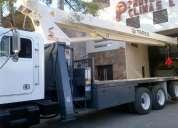 Camion grua titan 17 ton en freigthliner 1993