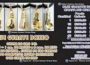 Dije guante boxeo chapa de oro 14k