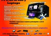 Reparacion a laptops y computadoras en monterrey
