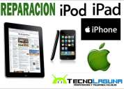 Reparacion de ipad, ipod, iphone, macbook todas las versiones!!!!!