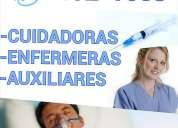 Cuidadores, cuidadores y enfermeras
