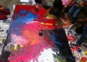 Pintura para niños cursos