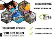 Empresa de control de plagas en cancún