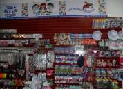Venta de productos de primera necesidad en escuelas y mercados