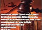 Soluciones profesionales a problemas legales