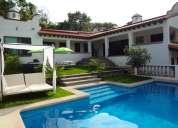 Espectacular residencia en cuernavaca, 20 personas, fs41.