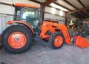 Kubota m 8540 4x4 tractor