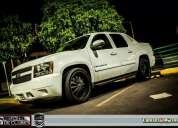 Chevrolet avalanche 2007 lt 4x4 $30 mil en adicionales