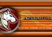 Aztkawol:diseño y serigrafia textil
