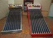 Calentadores solares en acero inoxidable