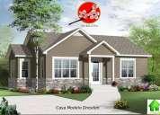 Casas americanas con crédito hipotecario