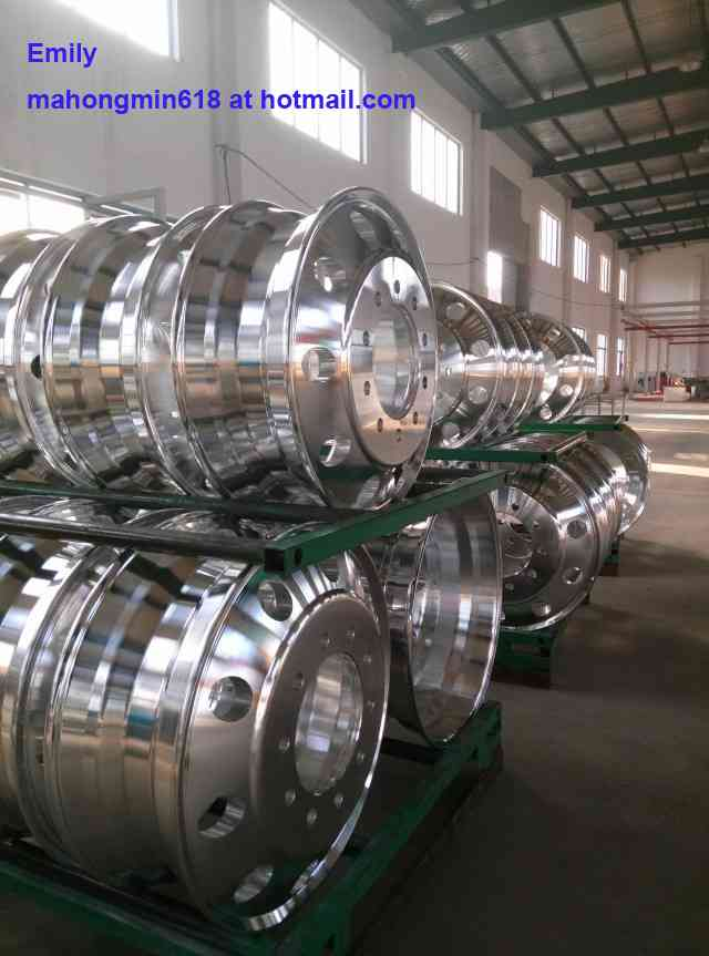 Llantas aluminio rines de aluminio para camiones remolques aros de aluminio comond doplim - Pulir llantas de aluminio a espejo ...