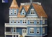 Miniaturas, casas de muñecas y trenes a escala.