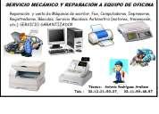 ReparaciÓn y venta de equipo de oficina y bÁsculas