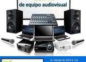 Renta de proyectores y equipo de audio