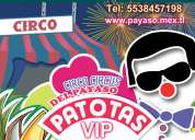 Circo para eventos patotas vip