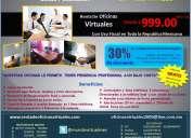 Renta en puebla tu propia oficina virtual