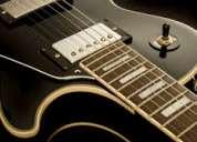 Clases de guitarra jazz/blues en el df