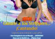 Miércoles 19: gánate a los strippers... ¡cantando!