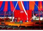 Carpas de circo en renta