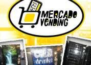 Mercado vending máquinas