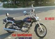 Maravillosa moto suzuki como nueva