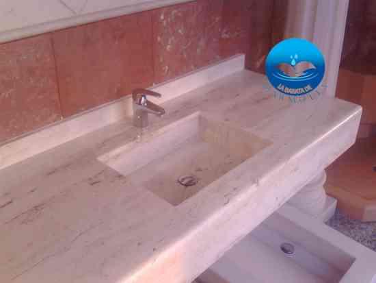 Fotos de mueble ba o lavabo minimalista onix m rmol oferta for Oferta mueble lavabo