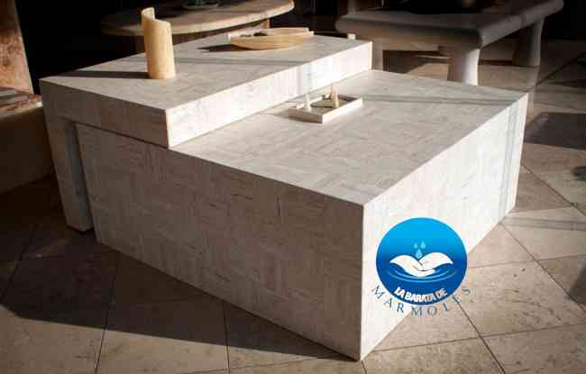 Cubiertas de marmol para ba os coyoac n doplim 196459 - Marmol para banos ...