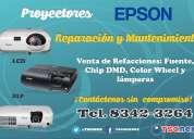 Reparacion y mantenimiento de proyectores epson en monterrey
