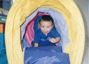 Centro de estimulación infantil, plastilina mundo