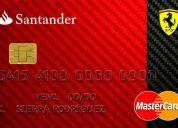 Urgente promotorias de tarjetas de credito santander zona noreste