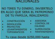 Construcciones economicas nacionales
