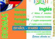 Maestros/as para centro de idiomas - francés e inglés