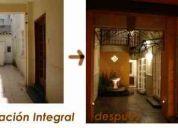 Remodelaciones y ampliaciones / arq. interiorista