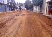 Excavaciones y limpieza de terrenos