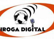 Publicaiones en internet, produccion de radio , spot comerciales en audio , transmision de
